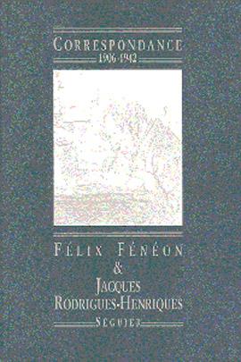 Correspondance 1906-1942 - Félix Fénéon
