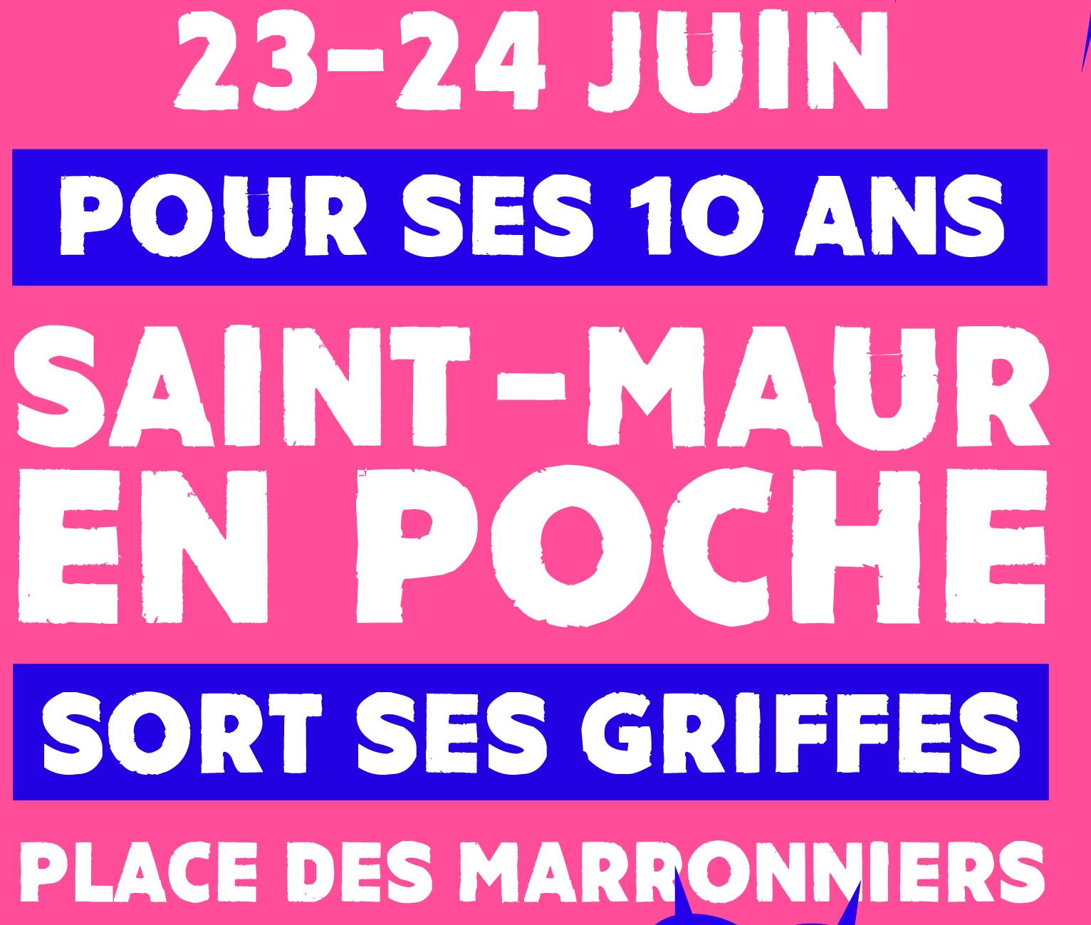 Hubert Artus au festival Saint-Maur en poche 2018