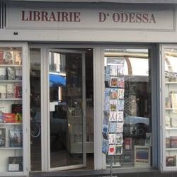 La Librairie d'Odessa reçoit Hélène Frappat