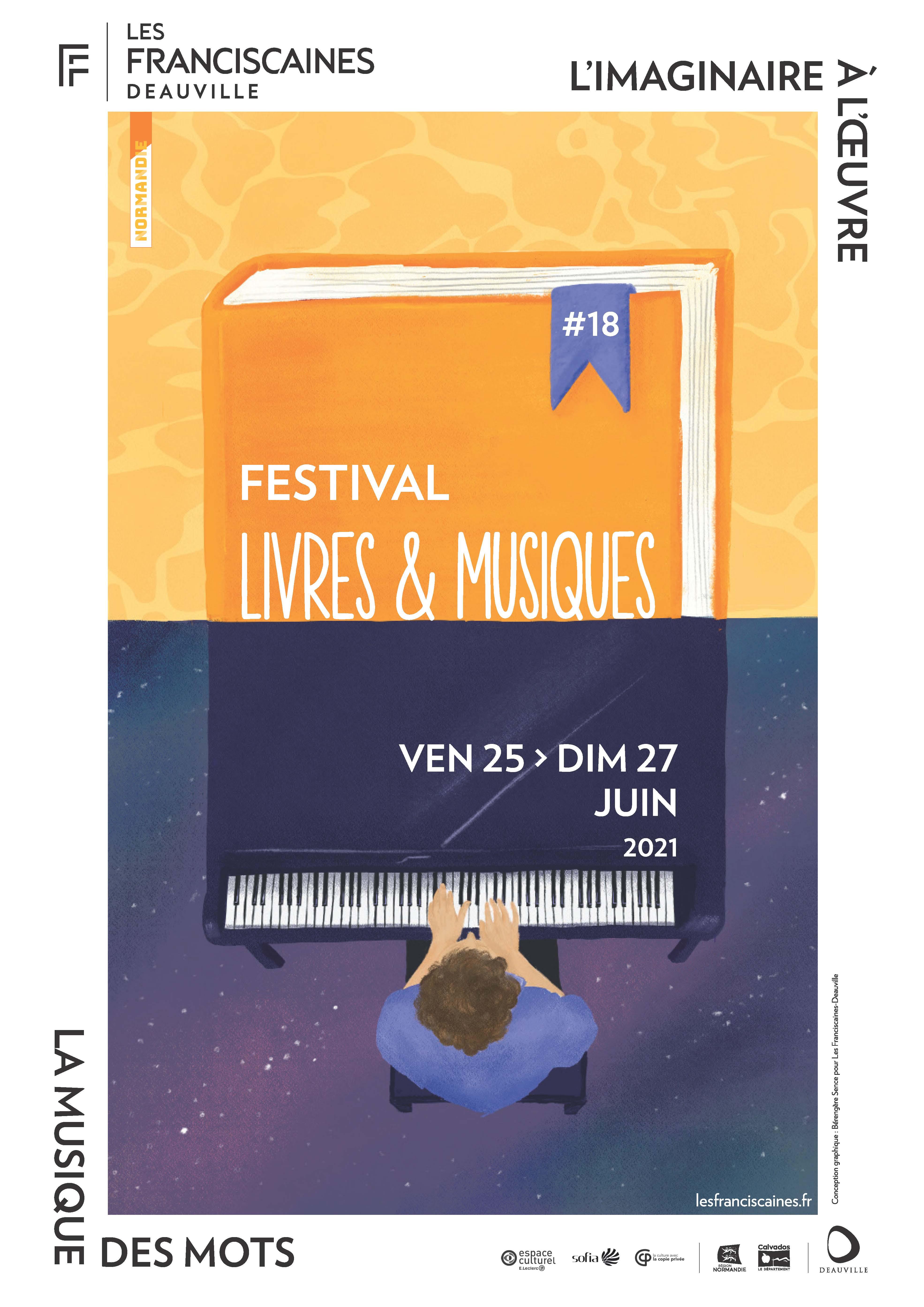 Rencontre avec Jean-Pierre Montal au Festival Livres & Musique de Deauville